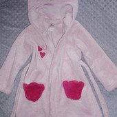 Мягенький халатик на 2-3 годика