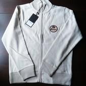 Бомбер спортивная кофта Jerzees олимпийка брендовый с эмблемой серп и молот