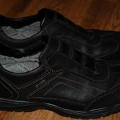 Кожаные туфли Ara GoreTex 42 р хорошее состояние