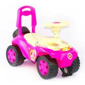 Машинка для катания ярко-розовая  198
