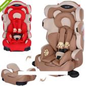 Автокресло детское Bambi группа1-2-3(9-36кг) Мишки M 3653