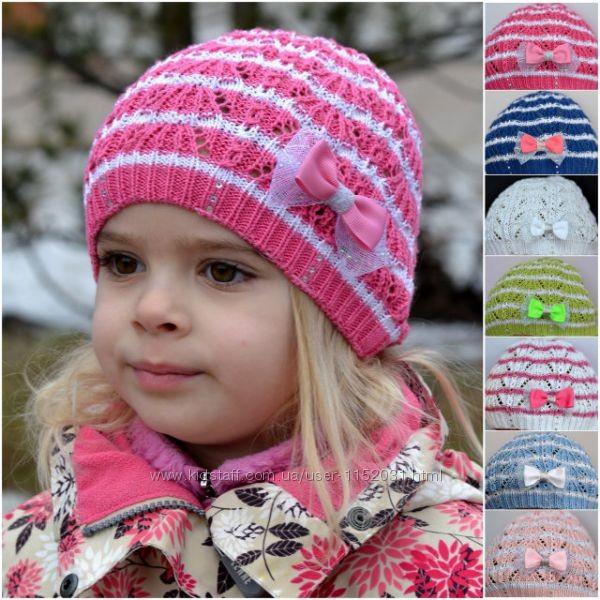 Вязание шапочки весна на девочек 125