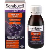 Самбукол Иммуно Форте с Витамином С + Цинк способствует повышению иммунитета при сезонных простудных