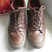 Кожаные кроссовки Ecco 45 р