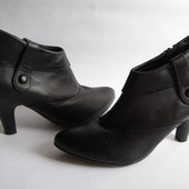 Кожаные ботинки Hush Puppies, р.41– 27 см.