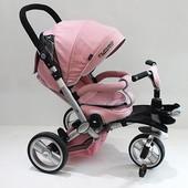 Трехколесный велосипед Turbotrike Розовый (M AL3645-10)