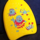 Детская доска для обучения плаванию Zoggs