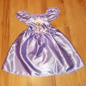 Новогоднее платье Disney для девочки 3-4 года, 98-104 см