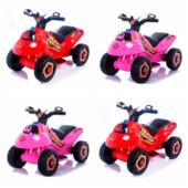 Толокар квадроцикл мотоцикл Bambi M 3558E, 2 цвета, электрический, 6В.