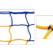 Сетка-гаситель для футзала и гандбола стандарт 5282: размер 3х2,1м, ячейка 12х12см