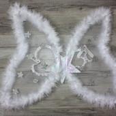 Крылья со звездочками