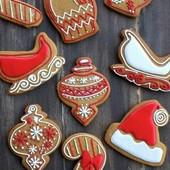 Пряники ко Дню Святого Николая и Новому году
