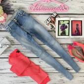 Симпатичные джинсы-скинни Denim с высокой посадкой  PN4303