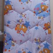 Детское стеганное шерстяное одеяло
