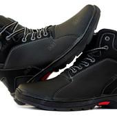 Ботинки мужские на меху современные отличного качества (ПБ-30чп)