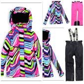Лыжный костюм для девочки зимний