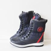 Зимние женские ботинки Bonote blue/red