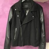 Куртка косуха Topman wool blend biker jacket Розмір L Новий з бірками