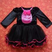 Продаю! 1-2 года Карнавальное платье Кошка Хеллоуин (Halloween) George, б/у.
