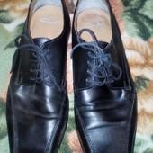 Туфли мужские кожанные классические Clarks 43-44р.