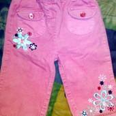Красивые штанишки на 9-12 месяцев