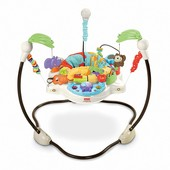 Fisher-Price напольные прыгунки Веселый Зоопарк luv u zoo jumperoo