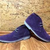 Замшевые ботинки дезерты Roamens