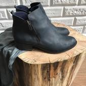 Синие ботинки S.Oliver рр 39