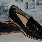 стильные туфли лоферы 28.5 см