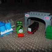 Thomas & Friends Мегаблокс оригинал, mega bloks паравозики Перси. Дизелью, Дизель 10