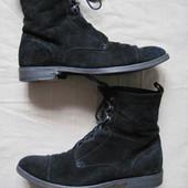 Navyboot (41, 26 см) замшевые ботинки на меху мужские