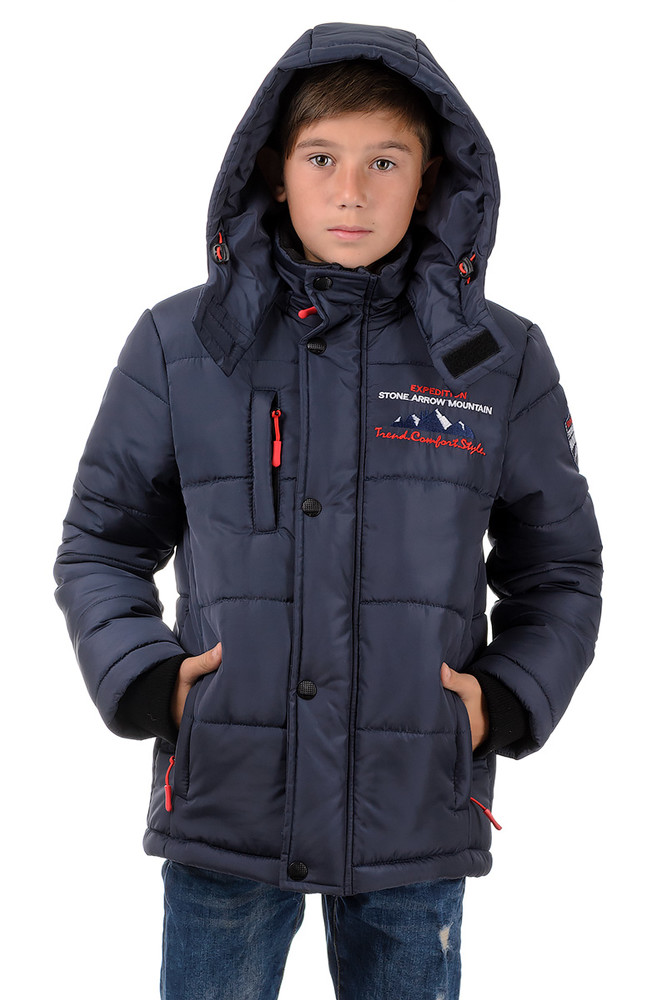 Теплая зимняя куртка на мальчика фото №1