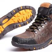 Ботинки кожаные зимние Timberland Pro Nubuck Brown