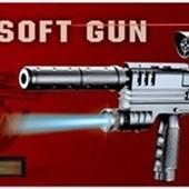 Пистолет SP3-A1  батар.,пульки,в коробке 41,5*18см