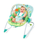 Детское кресло шезлонг Bright Starts Черепаха 10886 до 18кг