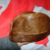 Стильная фирменная зимняя меховая шапка нерпа  Icebear Норвегия 57-59