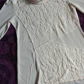 Красивые молочного цвета фирменные свитера!