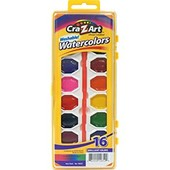 Cra-z-Art. Краски акварель с кисточкой  -16 шт. США