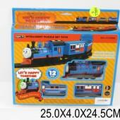 Железная дорога батар. 3309B (639594) (72шт/2) в коробке 25*4*24,5см