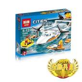 конструктор 02066 Lepin Спасательный самолёт береговой охраны