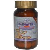 Solgar, Kangavites. Витамины и минералы для детей, 120 шт, Солгар.