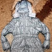 Куртка зима на девочку 104 р