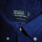 Мужская рубашка вельвет Polo by Ralph Lauren M