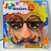 Набор карнавальный №578-028 Очки,нос,усы