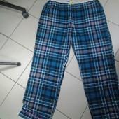 Брюки пижамные,мужские разм 60-62