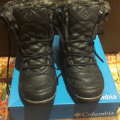 Кожаные ботинки Columbia