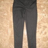 Фирменные M&S джинсовые лосины девочке 7-8 лет идеал