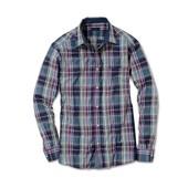 Стильная мужская рубашка М 48-50 евро Тсм Tchibo Германия