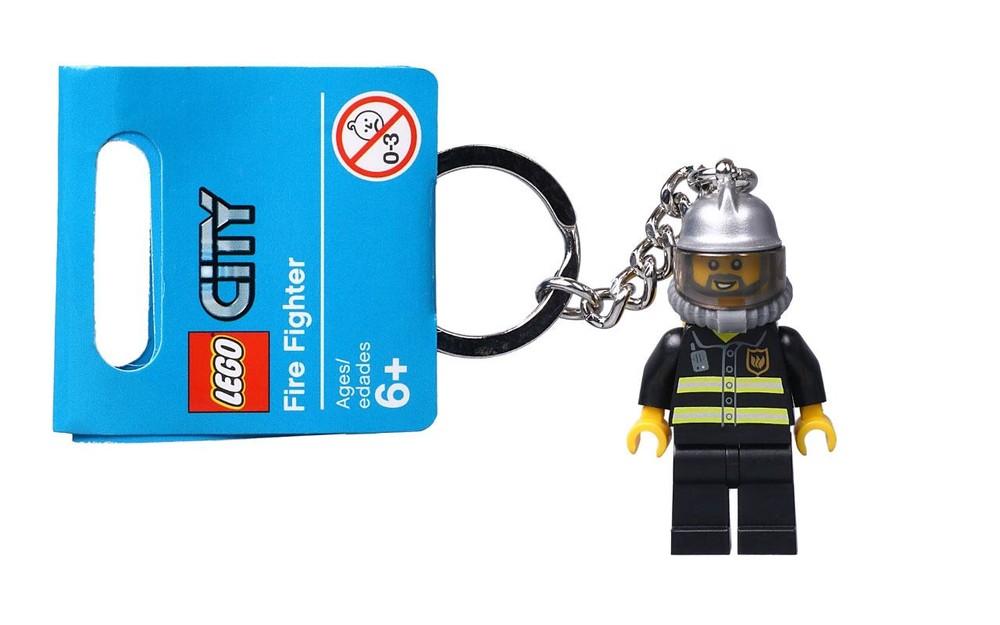 Lego City Брелок Пожарник 851537 фото №1
