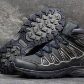 Ботинки зимние Salomon X-Ultra dark blue